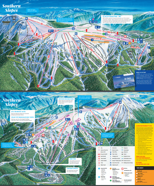 Mt Buller Trail Map 2018