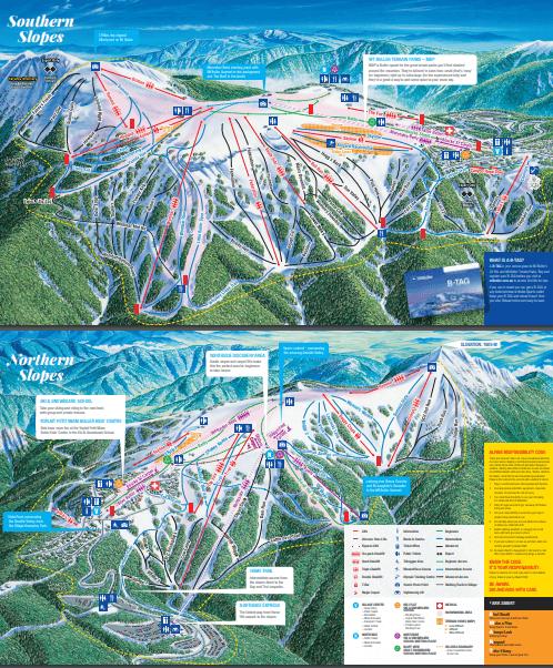 Mt Buller Trail Map 2018