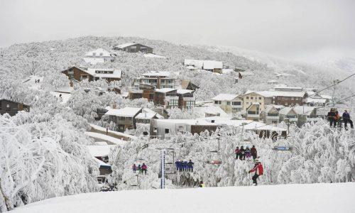 Mt Buller Snowy Day