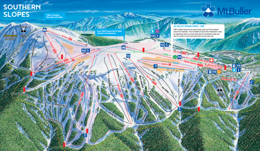 Mt Buller Trail Map