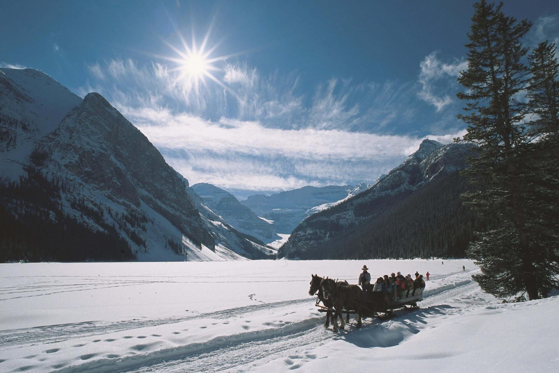 Chateau Lake Louise - Sleigh Ride