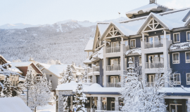 Summit Lodge Winter Whistler Hotel