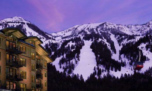 Jackson Hole Hotel ski in ski out