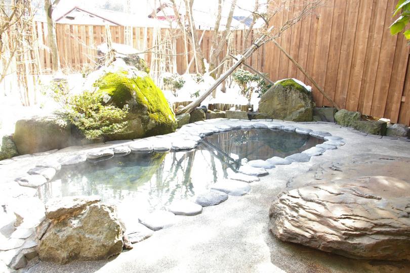 Nozawa onsen hotel with onsen