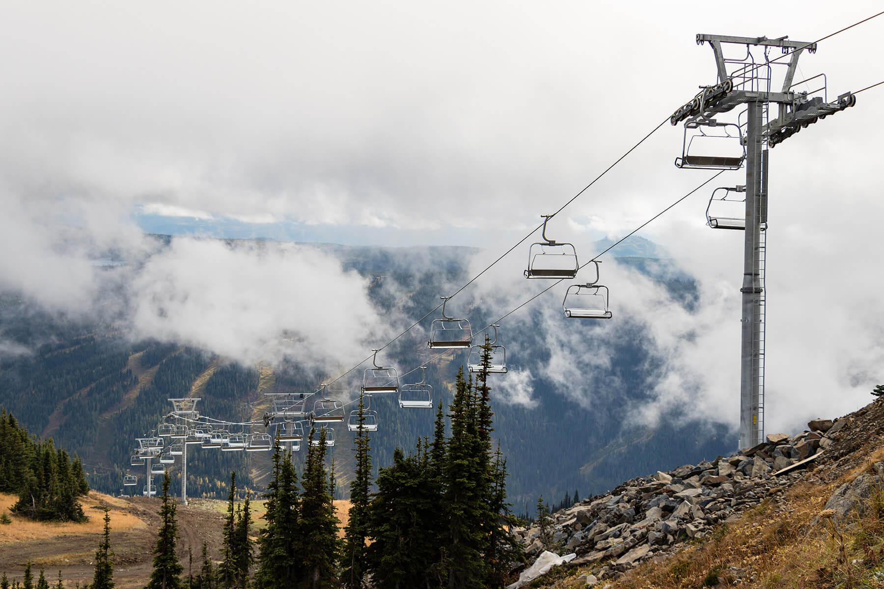 Crystal Chairlift Sun Peaks